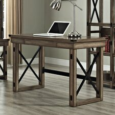Wildwood Writing Desk with Metal Frame