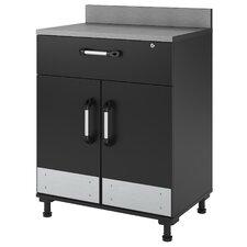 """Boss 41"""" H x 29.7"""" W x 19.7"""" D 2-Door 1 Drawer Storage Cabinet"""