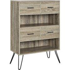 """Landon 44"""" Accent Shelves Bookcase"""