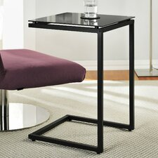 C Shaped End Table
