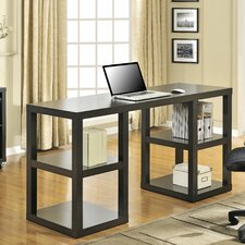 Parsons Writing Desk with 4 Shelves
