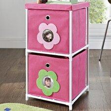 Kids' 2 Cube Toy Organizer