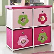 Kids' 4 Cube Toy Organizer