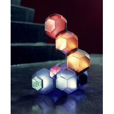 "Eight Crystal Units Light 2.9"" Floor Lamp"