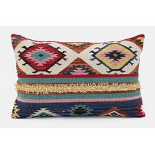 Desert Bloom Cotton Lumbar Pillow