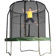 JumpPod 7.5' Trampoline with Enclosure