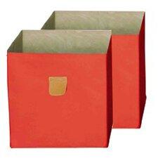 2-tlg. Aufbewahrungsbox Stor'it