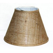 "12"" Burlap Empire Lamp Shade"