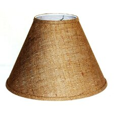 "15"" Burlap Empire Lamp Shade"