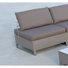 Hegoa Sectional with Taupe Cushion