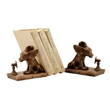 Cool Dog Book Ends (Set of 2)