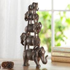 Elephant Quintet Figurine