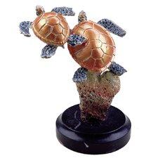 Small Sea Turtle Duo Figurine