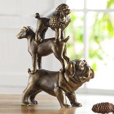 Dog Trio Figurine