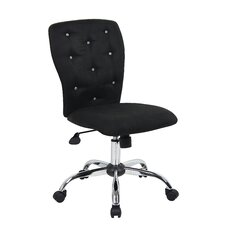 Tiffany Mid-Back Task Chair with Tufted Back