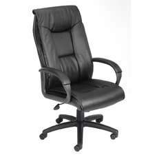 Pillow Top Design High-Back LeatherPlus Executive Chair