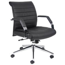 Caressoft Plus Adjustable Mid-Back Office Chair