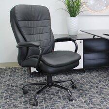 Adjustable High-Back Plush Executive Chair