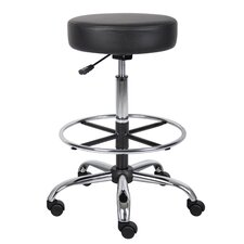 Adjustable Height Drafting Stool with Footring