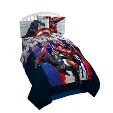 Captain America Midweight Down Alternative Comforter