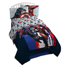 Captain America 132 Thread Count Sheet Set