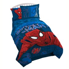 Spider-Man 'Graphic' Reversible Twin/Full Comforter