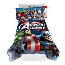 Avengers 'Classic Halo' Twin Blanket
