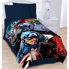 Avengers 2 Twin Blanket