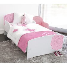Classically Cool Blossom Convertible Toddler Bed
