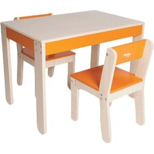 Little One's Kids 3 Piece Table & Chair Set
