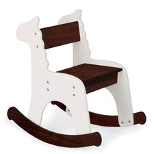 Cafe Con Leche Zebra Kids Rocking Chair