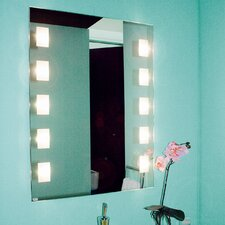 Beleuchteter Spiegel Visagist