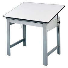 DesignMaster Melamine Compact Drafting Table