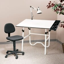 Creative Melamine Drafting Table System