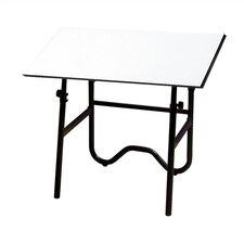 Onyx Melamine Drafting Table