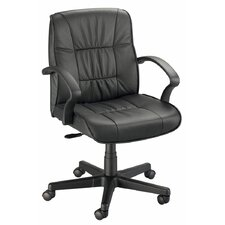Backrest Leather Conference Chair