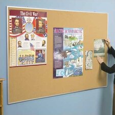Valu-Tak Series Wall Mounted Bulletin Board