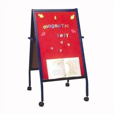 Double Sided Casters Board Easel
