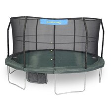 14' Trampoline with Enclosure and 84 Springs