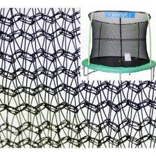 14' Trampoline Net Using 4 Poles
