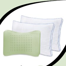 Memory Plus Deluxe Gusseted Pillow (Set of 2)