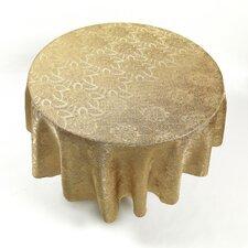 Rose Damask Fabric Tablecloth