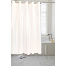 Pre Hooked™ Moire Shower Curtain