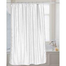 Shimmer Faux Silk Shower Curtain