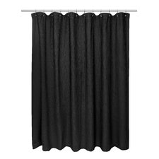Waffle Weave 100% Cotton Shower Curtain