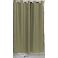 Pre Hooked™ Waffle Weave Shower Curtain