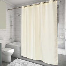 EZ-ON® Waffle Weave Shower Curtain