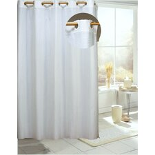 Ez On Check Shower Curtain