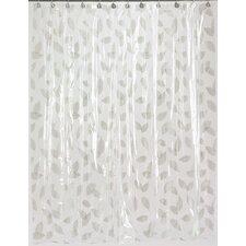 Vinyl Autumn Leaves Shower Curtain