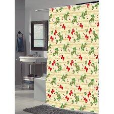 """Merry Christmas"" Shower Curtain"